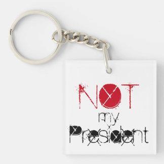 Nicht mein Präsident, Liebe-Trümpfe hassen Schlüsselanhänger