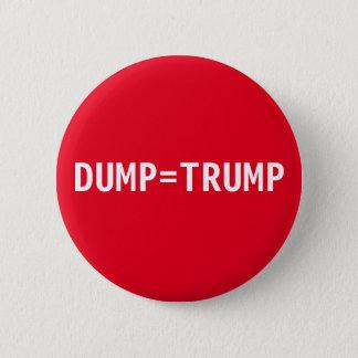 Nicht mein Präsident Runder Button 5,1 Cm