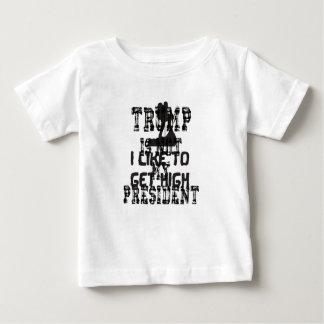 Nicht mein Präsident Trump Baby T-shirt