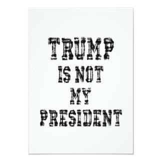 Nicht mein Präsident Trump Karte