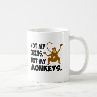 Nicht mein Zirkus Kaffeetasse