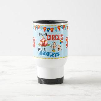 Nicht meine Zirkus-personalisierte Reise-Tasse Reisebecher