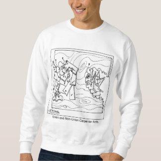 Nicht organisierte Tischler-Ameisen Sweatshirt