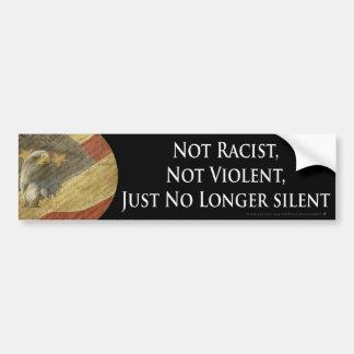 Nicht rassistisch, nicht heftig, gerade nicht mehr autoaufkleber