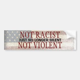 Nicht rassistisches nicht heftiges gerade nicht autoaufkleber