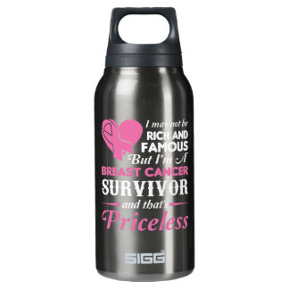 Nicht reicher berühmter i-Brustkrebs-Überlebender Isolierte Flasche