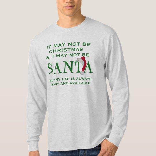 nicht sein WeihnachtsT - Shirtentwurf Sankt mag T-Shirt