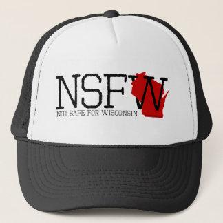 Nicht sicher für Wisconsin Truckerkappe