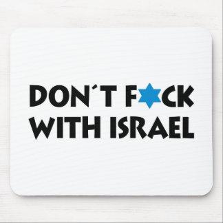 Nicht tun F*ck mit Israel - jüdischer Stolz Mauspads