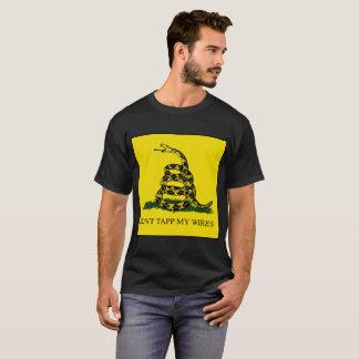 Nicht tun Tapp meine Drähte T-Shirt