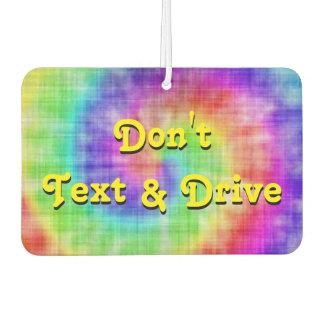 Nicht tun Text-u. Lufterfrischer