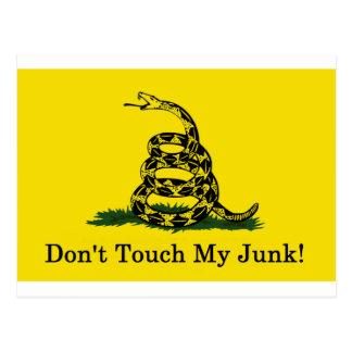 Nicht tun Touch mein Kram! Postkarte