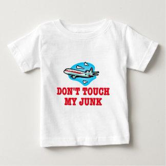 Nicht tun Touch mein Kram TSA Baby T-shirt