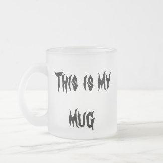 Nicht tun Touch meine Tasse