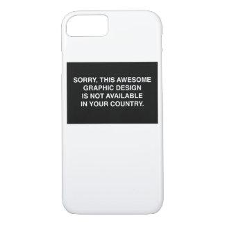 Nicht verfügbar in Ihrem Land iPhone 8/7 Hülle