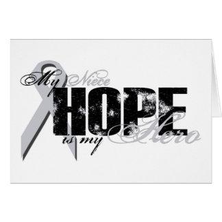 Nichte mein Held - Lungen-Hoffnung Karte