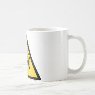 Nichtionisierende Strahlungsgefahr Kaffeetasse