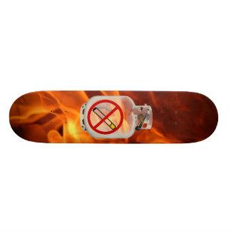 Nichtraucher an Bord Personalisiertes Skatedeck