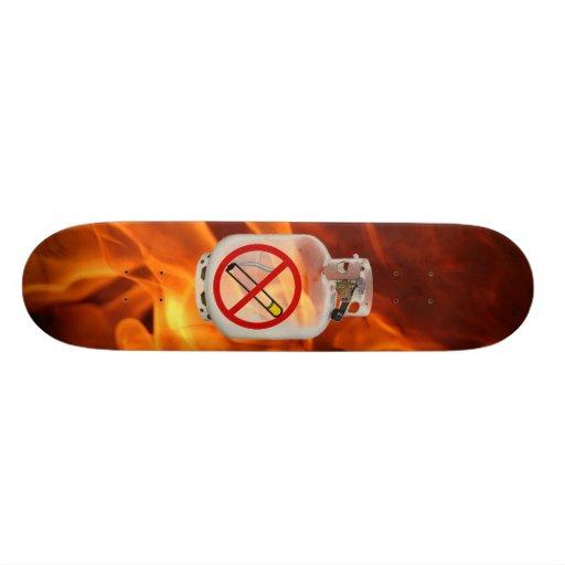 Nichtraucher an Bord Skateboardbrett
