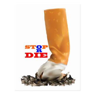 Nichtraucher Postkarte