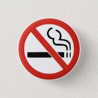 Nichtraucher Runder Button 3,2 Cm