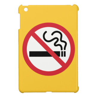 Nichtraucherikone iPad Mini Schale