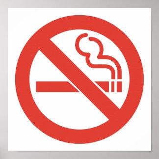 Nichtraucherplakat Poster