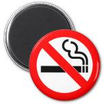 Nichtraucherzeichen des internationalen offizielle kühlschrankmagnete