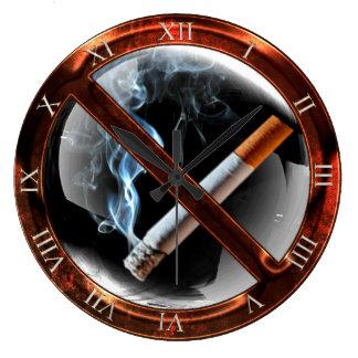 Nichtraucherzone Große Wanduhr