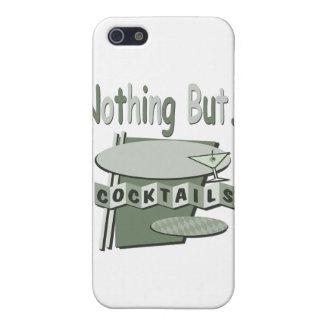 Nichts aber Cocktailschwarzweiss-Grün iPhone 5 Cover