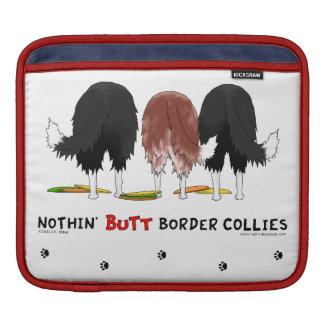 Nichts Hintern-GrenzCollies Sleeves Für iPads