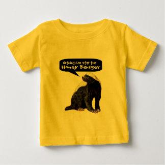 Nichts kann den Honig-Dachs stoppen! (Er spricht) Baby T-shirt