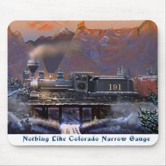 Nichts mögen Colorado-Schmalspur-Mausunterlage Mousepad