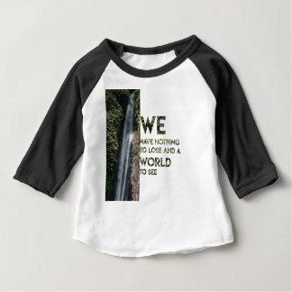 Nichts zu verlieren baby t-shirt