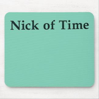 """""""Nick der Zeit"""" Mausunterlage Mauspad"""