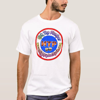 Nick die multi Farbe des Klempners T-Shirt