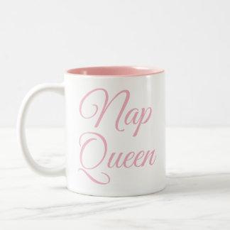 Nickerchen-Königin-Tasse   lustig u. Zweifarbige Tasse