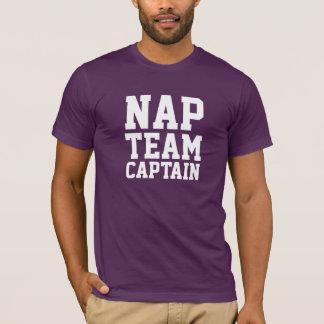Nickerchen-Team-Kapitän T-Shirt