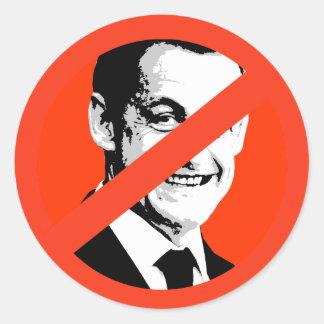 Nicolas Sarkozy Runde Aufkleber