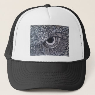 Nie fertiges Stammes- Eule Auge Truckerkappe
