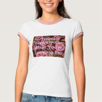 Nie geben Sie an, was Sie sind,… T-Shirt