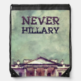 Nie Hillary Clinton Sportbeutel