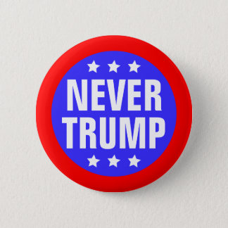 NIE TRUMPF für Präsidenten 2016 Runder Button 5,1 Cm