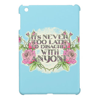 Nie zu spät iPad mini hülle