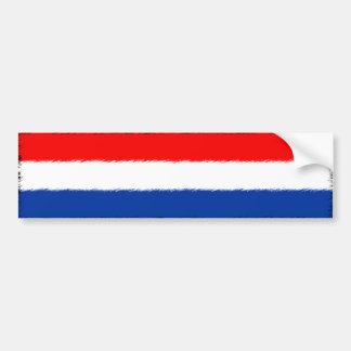 Niederländische Flagge Autoaufkleber