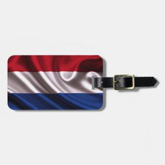 Niederländische Flagge für Kofferanhänger
