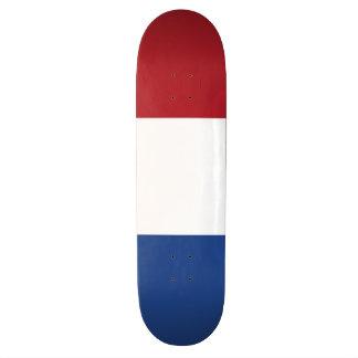 Niederländische Flagge Skate Board