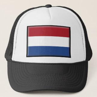 Niederländische Flagge Truckerkappe