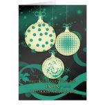 Niederländische frohe Weihnacht-Weihnachtskarte Karten