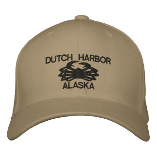 Niederländische gestickter Hut Hafen-Alaskas